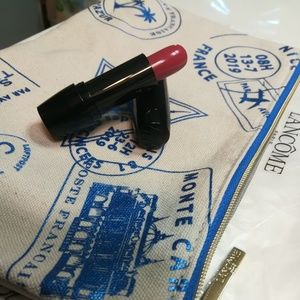 Lancome lipstick and cosmetic pouch, NWT